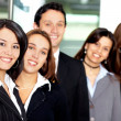 Business team in an office — Stock Photo #7766331