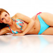 Stock Photo: Bikini girl