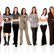 Business woman only team — Stock Photo #7766585
