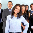 Business office team — Stock Photo #7766702