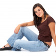 Casual woman smiling — Stock Photo #7766789