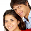 Couple smiling — Stock Photo #7766881
