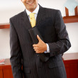 Happy business man — Stock Photo #7766964