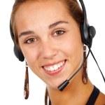 Customer services representative — Stock Photo