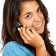 Casual woman on the phone - Foto Stock