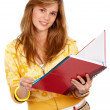 Student with books — Stock Photo #7767182