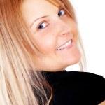 Женщина улыбается — Стоковое фото
