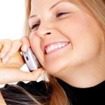 Geschäftsfrau auf dem Handy — Stockfoto #7767223