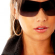 Fashion woman wearing sunglasses — Stock Photo #7767372
