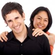 Diverse happy couple — Stock Photo #7767380