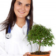 Doctor for the environment — Stock Photo