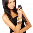 Woman on the phone — Stock Photo #7767550