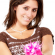 Gift box girl — Stock Photo #7767567