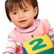 Foto de Stock  : Preschool girl smiling