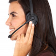 Customer services representative — Stock Photo