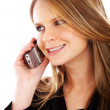 Business woman on the phone — Stock Photo #7767947