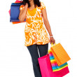 Woman with shopping bags — Stock Photo #7768174