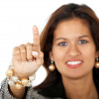 Business woman pointing — Stock Photo #7768203