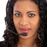 Customer services representative — Stock Photo #7768213