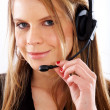 Stock Photo: Customer services representative