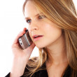 Business woman on the phone — Stock Photo #7768257