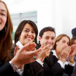 Business team clapping — Stock Photo #7768327