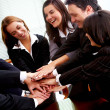 Office teamwork - Stock Photo