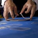 barajar las cartas — Foto de Stock