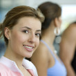 Stock Photo: Girl at the gym