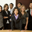 Business Office Team Work - Stock Photo