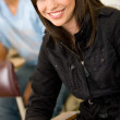 Girl studying - Stockfoto