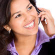 Business woman on the phone — Stock Photo #7768492