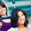 Girls at the gym — Stock Photo #7768501