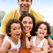 Happy family portrait — Stock Photo #7768509