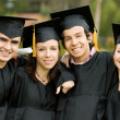 Graduation group - Stock Photo