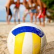 Beach volleyball — Stock Photo #7768604