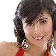 Girl with headphones — Stock Photo #7768612