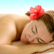 Beauty and spa woman — Stock Photo