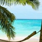 Пляжный рай — Стоковое фото