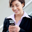 Business woman texting — Stock Photo #7768820
