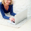 Woman with a laptop — Stock Photo #7768935