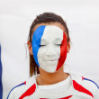 French flag portrait — Stock Photo #7768952