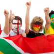 Excited football fans — Stock Photo #7768960