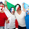 Excited football fans — Stock Photo #7768964