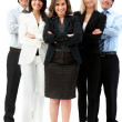 Confident business team — Stock Photo