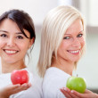 Healthy eating women - Stock Photo