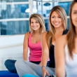 Pilates class in a gym — Stock Photo #7769166
