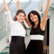 Successful business women — Stock Photo
