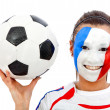 French football fan — Stock Photo #7769361