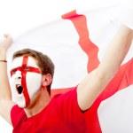 English flag portrait — Stock Photo #7769362
